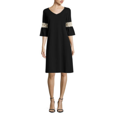 Tiana B Long Sleeve Sheath Dress - Tall