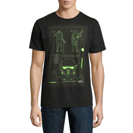 Star Wars Death Troop Schemati Graphic Tee