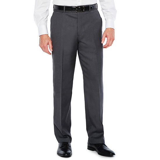 Stafford Mens Classic Fit Flat Front Pant