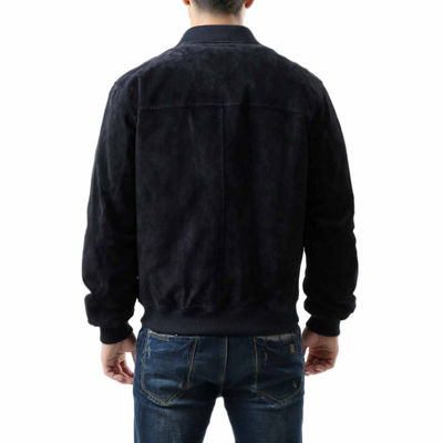 Wallace Suede Bomber Jacket Big