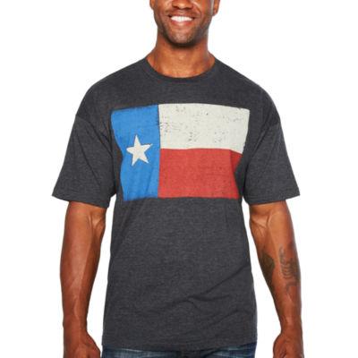Short Sleeve Crew Neck T-Shirt-Tall