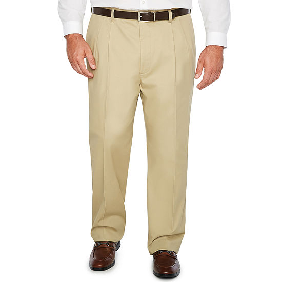 The Foundry Big & Tall Supply Co. Mens Pleated Pant - Big and Tall