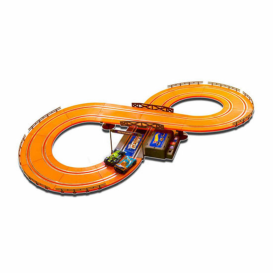 Hot Wheels Battery Operated 93 Ft Slot Track