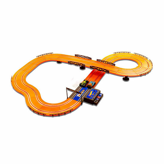 Hot Wheels Battery Operated 12.4 ft. Slot Track
