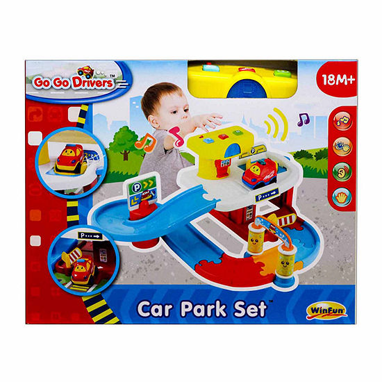 Winfun Go Go Drivers Car Park Playset