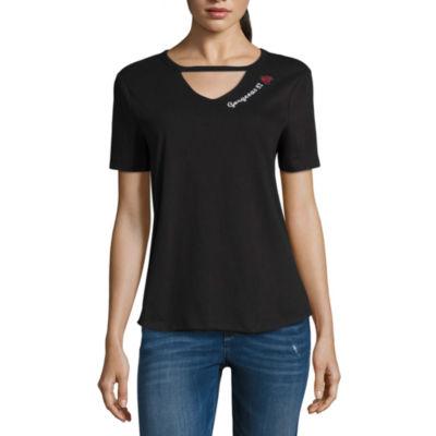 """Arizona """"Gorgeous 82"""" Graphic T-Shirt- Juniors"""