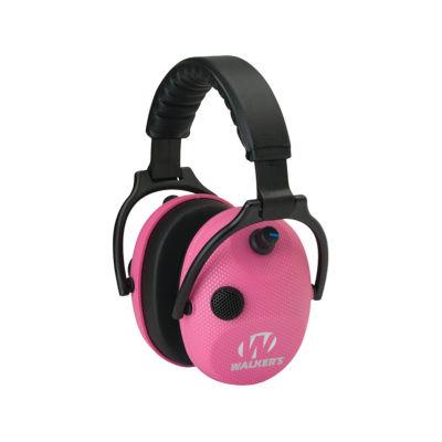 Alpha Power Muffs- Elec Pink Carbon- Ssl