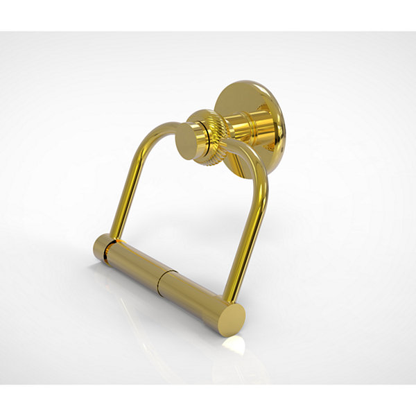 Allied Brass Mercury Collection 2 Post Toilet Tissue Holder with Twisted Accents