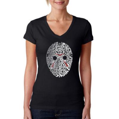 Los Angeles Pop Art Slasher Movie Villians GraphicT-Shirt