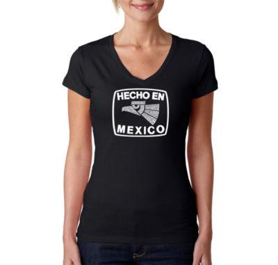 Los Angeles Pop Art Hecho En Mexico Graphic T-Shirt