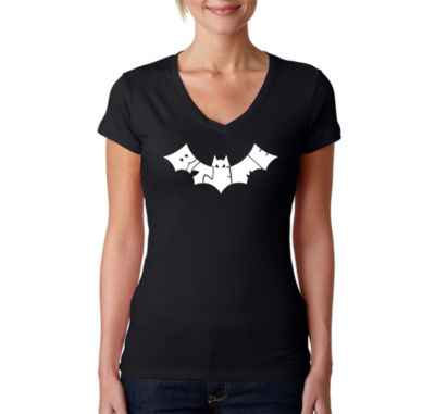 Los Angeles Pop Art Bat - Bite Me Graphic T-Shirt
