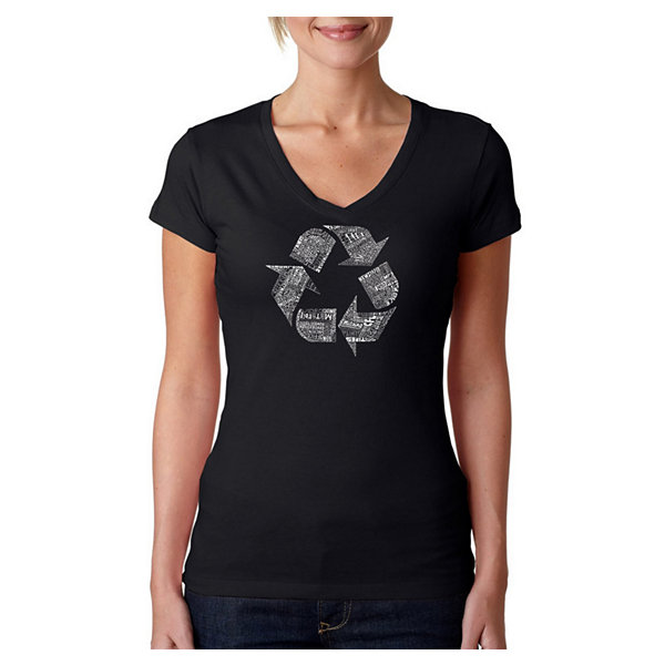 Los Angeles Pop Art 86 Recyclable Products GraphicT-Shirt