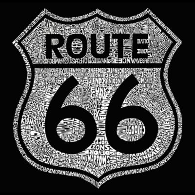 Los Angeles Pop Art Cities Along The Legendary Route 66 Graphic T-Shirt