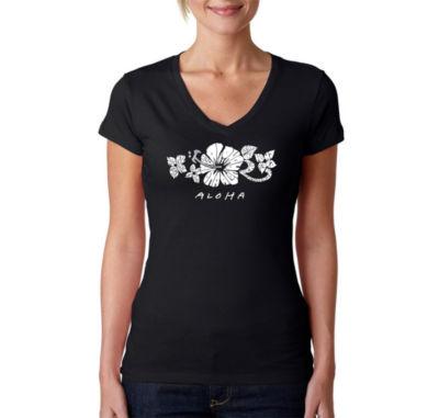 Los Angeles Pop Art Aloha Graphic T-Shirt