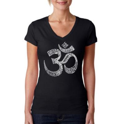 Los Angeles Pop Art Poses Om Graphic T-Shirt