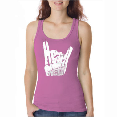 Los Angeles Pop Art Heavy Metal Tank Top