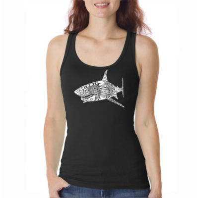 Los Angeles Pop Art Species Of Shark Tank Top