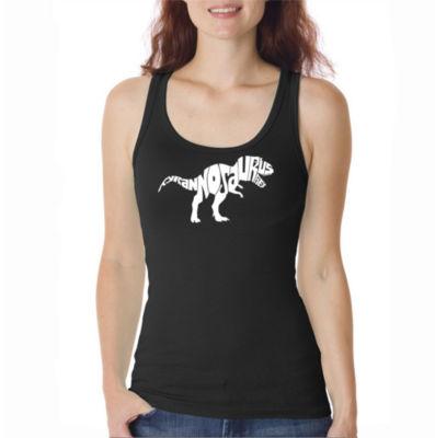 Los Angeles Pop Art Tyrannosaurus Rex Tank Top