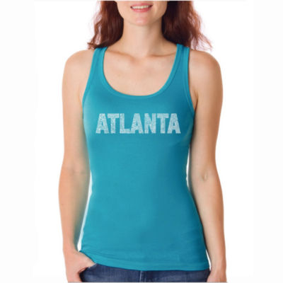 Los Angeles Pop Art Atlanta Neighborhoods Tank Top