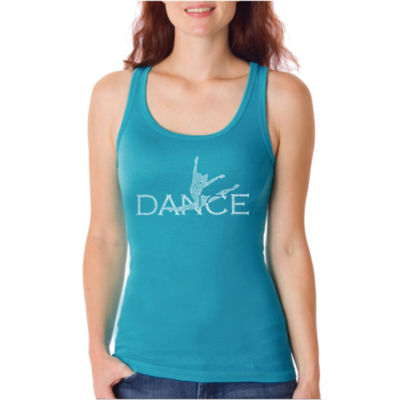 Los Angeles Pop Art Dancer Tank Top