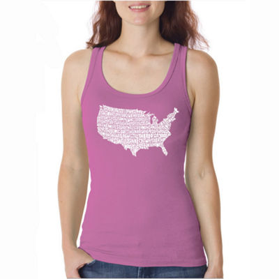 Los Angeles Pop Art The Star Spangled Banner Tank Top