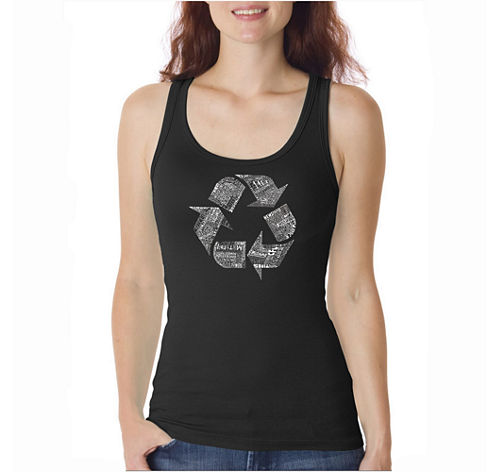 Los Angeles Pop Art 86 Recyclable Products Tank Top