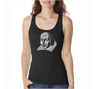 Los Angeles Pop Art The Titles Of All Of William Shakespeares Comedies & Tragedies Tank Top