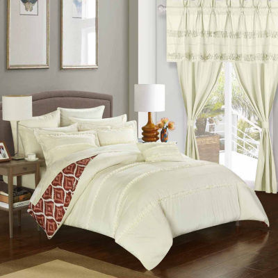 Chic Home Adina 20-pc. Midweight Reversible Comforter Set