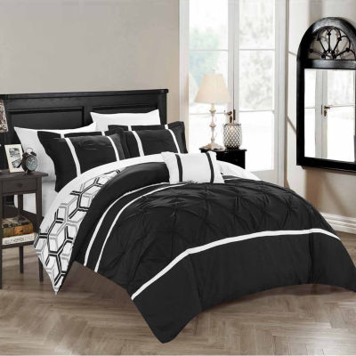 Chic Home Marcia 8-pc. Midweight Reversible Comforter Set