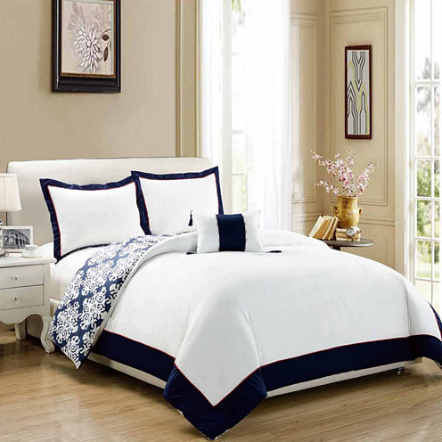 Chic Home Trina 4-pc. Duvet Cover Set