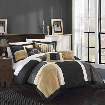 Chic Home Alleta 11-pc. Midweight Comforter Set