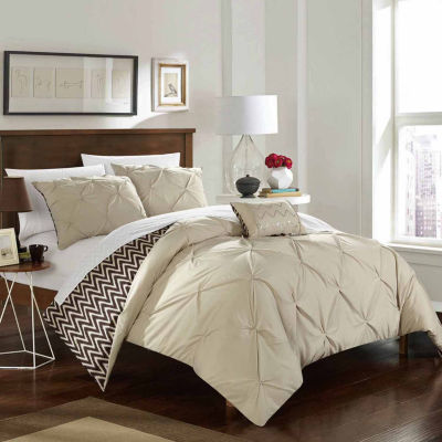 Chic Home Jacky Midweight Reversible Comforter Set