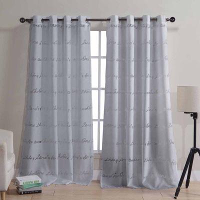 Kensie Tessa 2-Pack Curtain Panel