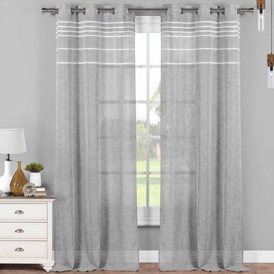 Kensie Tinley 2-Pack Curtain Panel