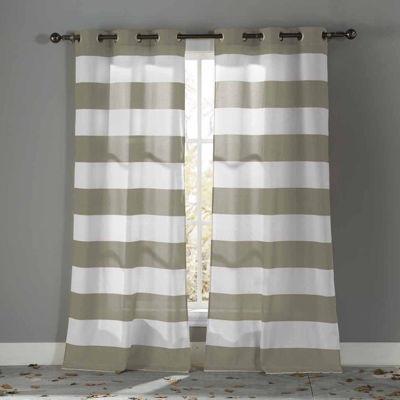 Kensie Toto 2-Pack Curtain Panel