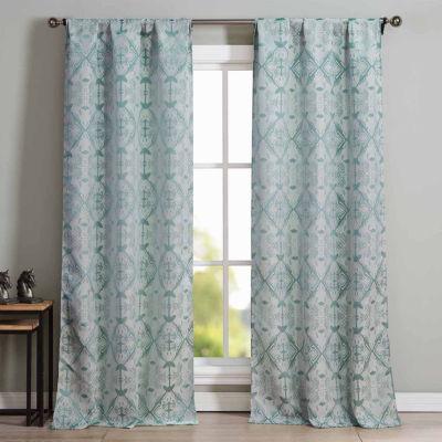 Kensie Vivyan 2-Pack Curtain Panel