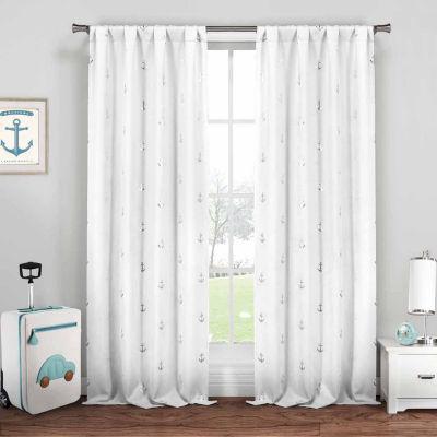 Lala+Bash Ahoy 2-Pack Curtain Panel