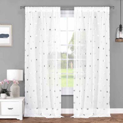 Lala+Bash Wally 2-Pack Curtain Panel