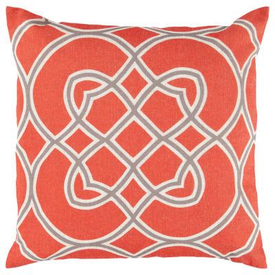 Decor 140 Cagliari Square Throw Pillow
