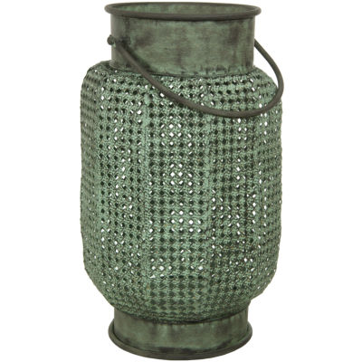 Oriental Furniture Perforated Decorative Hanging Decorative Lantern