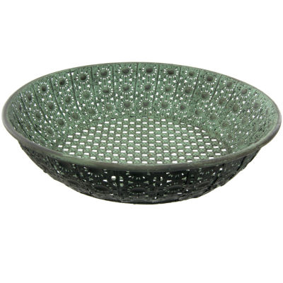 Oriental Furniture Wrought Iron Perforated Decorative Plate