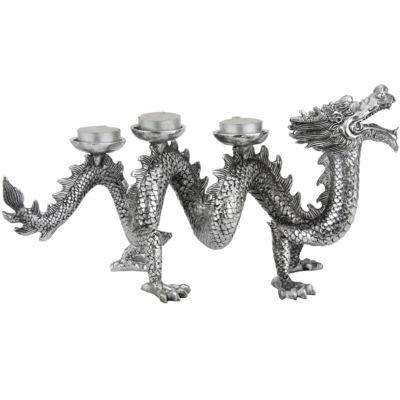 "Oriental Furniture 14"" Dragon Figurine"