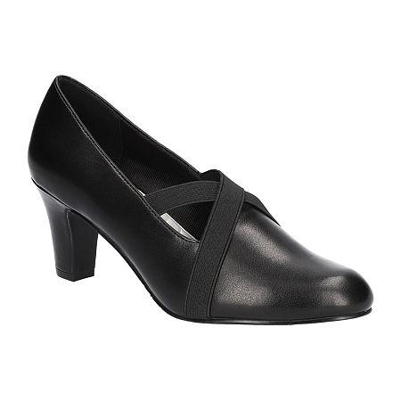 Titanic Edwardian Shoes – Make or Buy Easy Street Womens Zaylee Pumps Stiletto Heel 9 Medium Black $41.99 AT vintagedancer.com