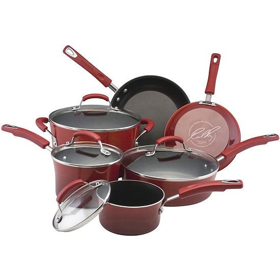 Rachael Ray® Porcelain II 10-pc. Cookware Set + $30 Mail-In Rebate