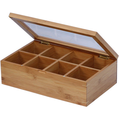 Oceanstar Bamboo Tea Box