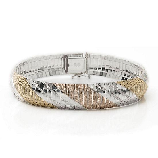 Tri-Tone Flex Bracelet