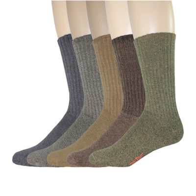 Dockers® 5-pk. Cushion Comfort Crew Socks
