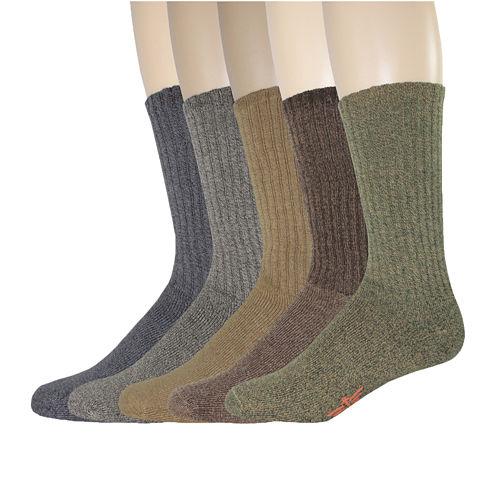 Dockers® 5-pk. Cushion Comfort Crew Socks