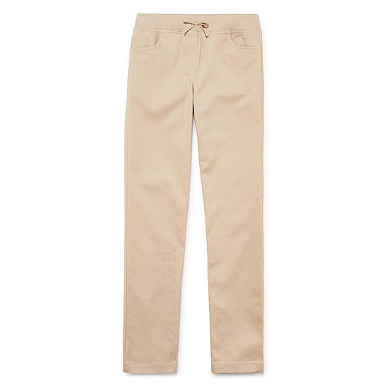 IZOD Little & Big Girls Skinny Pull-On Pants