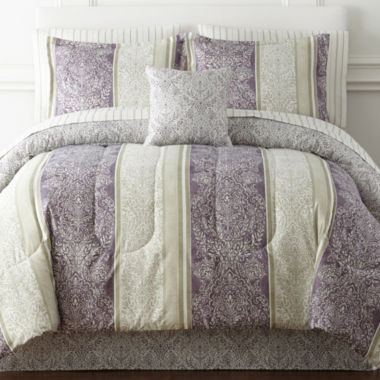 jcpenney.com | Home Expressions™ Nadine Reversible Comforter & Sheet Set and Accessories